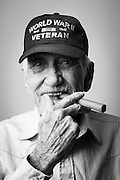 Robert B. Smith served as an NM3C radioman in the Navy from 1944 to 1946. He's a WWII veteran and says, &quot;I like my women like I like my racehorses, FAST!&quot;<br />