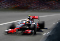 Motorsports / Formula 1: World Championship 2010, GP of Brasil, 02 Lewis Hamilton (GBR, Vodafone McLaren Mercedes),