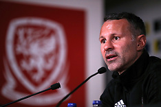 Wales Training and Press Conference - 10 October 2018