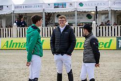 LAHDE Harm (GER), HAUNHORST Max (GER)<br /> Hagen - Horses and Dreams 2019<br /> Parcoursbesichtigung<br /> Großer Preis der Deutschen Kreditbank AG- BEMER RIDERS TOUR - Wertungsprüfung - CSI4* Grand Prix Two Rounds<br /> 28. April 2019<br /> © www.sportfotos-lafrentz.de/Stefan Lafrentz
