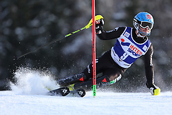 06.01.2014, Stelvio, Bormio, ITA, FIS Weltcup Ski Alpin, Bormio, Slalom, Herren, im Bild Stefano Gross // Stefano Gross  in action during mens Slalom of the Bormio FIS Ski World Cup at the Stelvio in Bormio, Italy on 2014/01/06. EXPA Pictures © 2014, PhotoCredit: EXPA/ Sammy Minkoff<br /> <br /> *****ATTENTION - OUT of GER*****