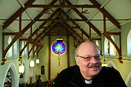 Saint Patrick Pastor Kurt Boras is the first non-Irish priest in the Parish's 175 year history in southwest suburban Lemont. A Chicagoan by birth, the Polish-American priest was raised near Midway Airport.  Friday, January 9th. 2015 l Brian J. Morowczynski-ViaPhotos<br /> <br /> For use in a single edition of Catholic New World Publications, Archdiocese of Chicago. Further use and/or distribution may be negotiated separately. <br /> <br /> Contact ViaPhotos at 708-602-0449 or email brian@viaphotos.com.