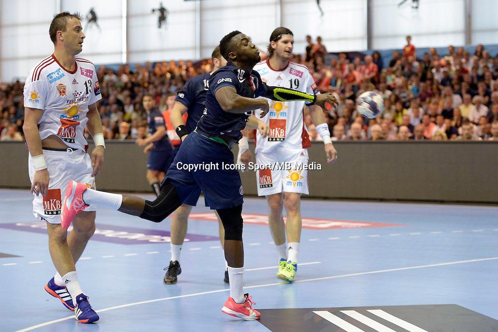 Luc Abalo - 12.04.2015 - Paris Handball / Vezprem - Champions League<br />Photo :  Andre Ferreira  / Icon Sport