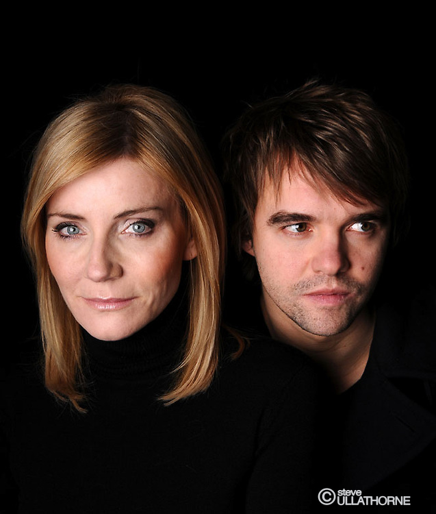 "Michelle Collins and Rupert Hill, ""Deceptions"" poster shoot"