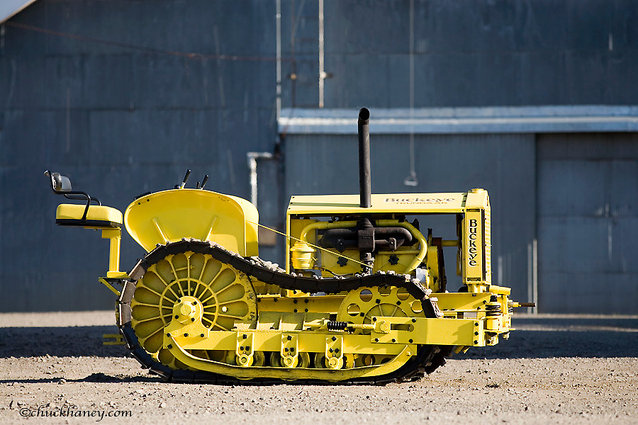 1918 Buckeye Trundaar Tractor Crawler restored by Ted Billups of Grangeville Idaho