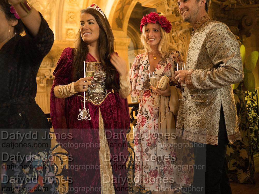Bella Howard 30th birthday, Castle Howard, Dress code: Flower Fairies and Prince Charming, 3 September 2016