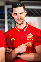 Sergio Rico during the opening of the corner of the Spanish team in its new Adidas Store Gran Vía in Madrid. June 05 2016. (ALTERPHOTOS/Borja B.Hojas)