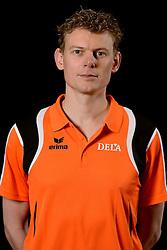 25-04-2013 VOLLEYBAL: NEDERLANDS MANNEN VOLLEYBALTEAM: ROTTERDAM<br /> Selectie Oranje mannen seizoen 2013-2014 / Arts Maikel van Wijk<br /> ©2013-FotoHoogendoorn.nl