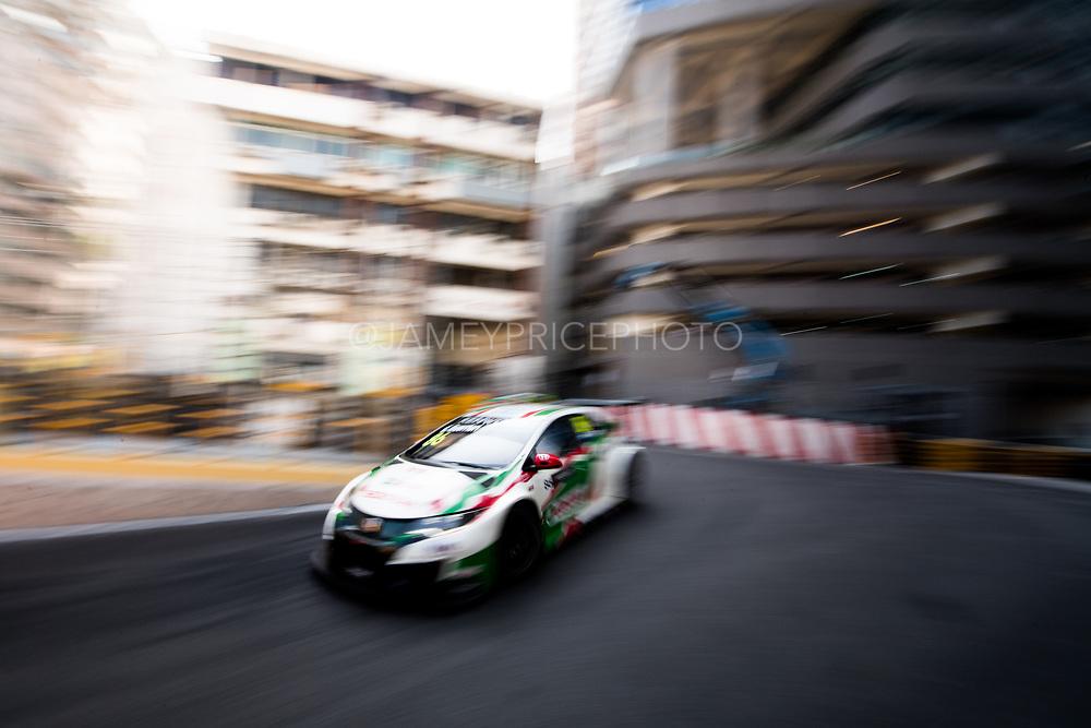 Esteban GUERRIERI, Castrol Honda WTC Team, Honda Civic WTCC<br /> 64th Macau Grand Prix. 15-19.11.2017.<br /> Suncity Group Macau Guia Race - FIA WTCC<br /> Macau Copyright Free Image for editorial use only