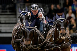 Exell Boyd, AUS, Bajnok, Rocket 123, Demi, Barny 68<br /> JIM Maastricht 2019<br /> FEI Driving World Cup™ 2019/20 <br /> © Hippo Foto - Dirk Caremans<br />  09/11/2019