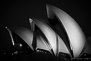 Sydney Opera House Sails at Night