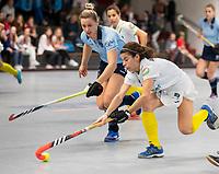 HAMBURG  (Ger) - 06  LMHC Laren v Club Campo de Madrid (Esp) (6-4)   foto: Lieke van Wijk (Laren) .    Eurohockey Indoor  Club Cup 2019 Women . WORLDSPORTPICS COPYRIGHT  KOEN SUYK