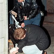 Dodelijke schietpartij Havenstraat Hilversum restaurant Valentino moord, onderzoek technische recherche, gips sporen