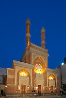 Plum St Temple / Isaac M Wise Temple at Twilight
