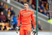 Colin Doyle (#13) of Heart of Midlothian during the Ladbrokes Scottish Premiership match between Motherwell FC and Heart of Midlothian FC at Fir Park, Stadium, Motherwell, Scotland on 17 February 2019.