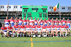 May 5, 2013; Bronx, NY; USA; Team photo of New York before the first half at Gaelic Park.