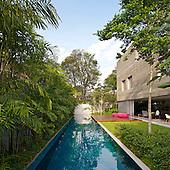 Casa Cubo In sao Paulo, Brazil by Studio MK27 Marcio Kogan