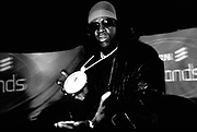 Flava Flav from Hip Hop group Public Enemy