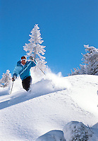 Diamond Peak Powder Skiing