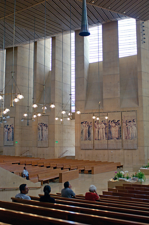 Church, Cathedral of our Lady of the Angels, Downtown, Los Angeles, California, United States of America