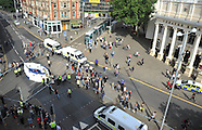 Nottingham: Black Lives protest, 5 August 2016