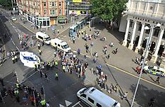 Nottingham: Black Lives protest, 5 August 2016