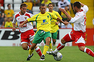 Stevenage - Tuesday July 20th, 2010:   Wes Hoolahan of Norwich in action during the Pre Season Friendly match at the Lamex Stadium, Stevenage. (Pic by Paul Chesterton/Focus Images)