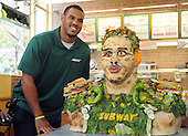 05/07/2014 NFL Prospect Anthony Barr is newest SUBWAY Famous Fan