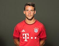German Soccer Bundesliga 2015/16 - Photocall of FC Bayern Munich on 16 July 2015 in Munich, Germany: Juan Bernat