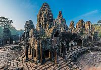 prasat bayon temple Angkor Thom Cambodia