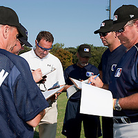 Baseball - MLB Academy - Tirrenia (Italy) - 19/08/2009 - Coaches and scouts, Mike McClellan, Bill Holmberg