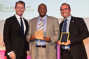 Greg Barker MP with George Gitau and Andrew Tanswell, ToughStuff International