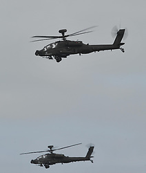 Augusta Westland Apache AH1, Tank Buster Helicopter,   VE Day Air Show, Duxford, Saturday 23rd May 2015