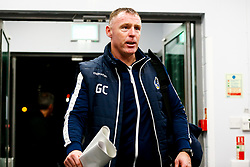 Bristol Rovers manager Graham Coughlan arrives at PTS Academy Stadium prior to kick off  - Mandatory by-line: Ryan Hiscott/JMP - 08/01/2019 - FOOTBALL - PTS Academy Stadium - Northampton, England - Northampton Town v Bristol Rovers - Checkatrade Trophy