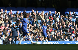 David Luiz of Chelsea on the ball - Mandatory by-line: Arron Gent/JMP - 10/03/2019 - FOOTBALL - Stamford Bridge - London, England - Chelsea v Wolverhampton Wanderers - Premier League