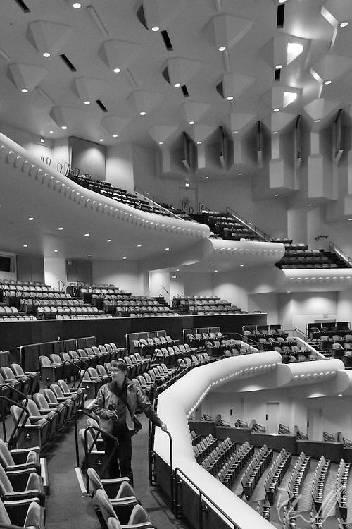 Davies Symphony Hall, San Francisco, CA, acoustic, architecture