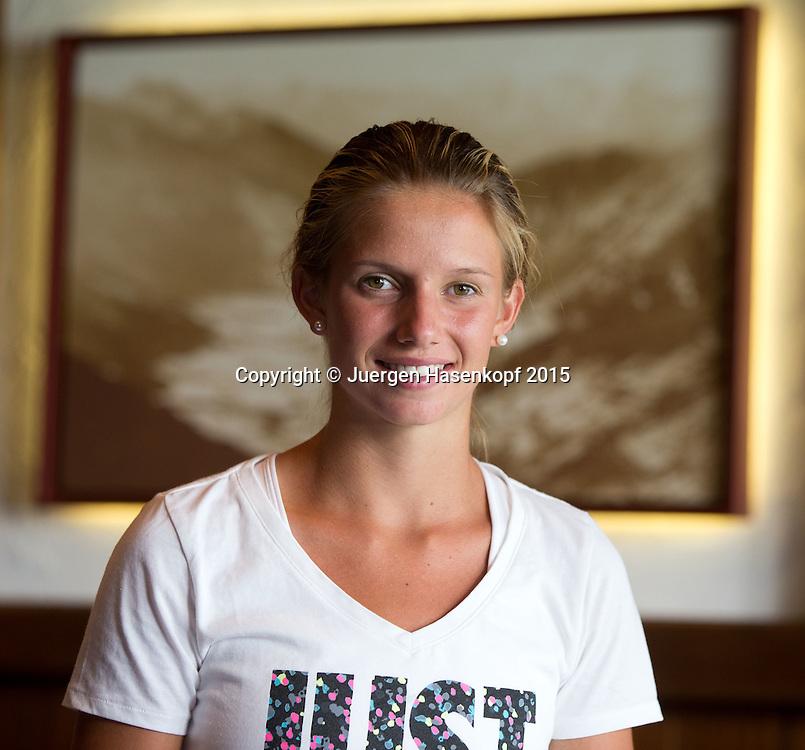 Barbara Haas (AUT), Portrait,privat,<br /> <br /> <br /> Tennis - Gastein Ladies 2015 - WTA -  Europaeischer Hof - Bad Gastein -  - Oesterreich  - 21 July 2015. <br /> &copy; Juergen Hasenkopf