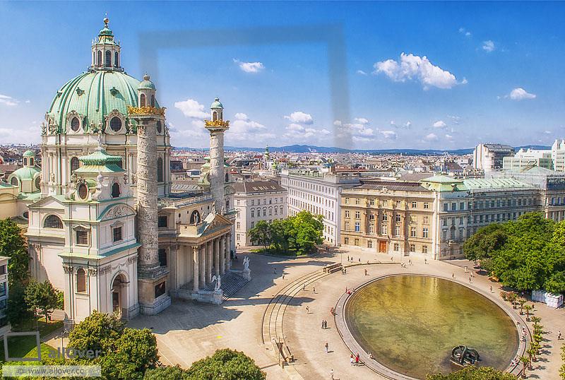 Vienna, Karlskirche, Austria