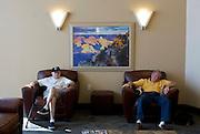 UNITED STATES-SUN CITY-A retirement community in Arizona. Waiting room. PHOTO: GERRIT DE HEUS .VERENIGDE STATEN-SUN CITY-  Sun City. COPYRIGHT GERRIT DE HEUS