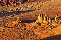 Totem Pole Formation in Monument Valley