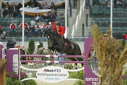 KOVACS Henri, The Real Deal<br /> Kentucky - Alltech FEI WEG 2010<br /> /Stefan Lafrentz