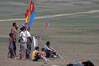 tilskuere til det mongolsk mesterskap i polo, spectators at the Mongol championship in polo