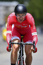 June 7, 2017 - Bourgoin Jallieu, France - BOURGOIN-JALLIEU, FRANCE - JUNE 7 : CLAEYS Dimitri of Cofidis, Solutions Credits during stage 4 of the 69th edition of the Criterium du Dauphine Libere cycling race, an individual time trail of 23,5 kms between La Tour-du-Pin and Bourgoin-Jallieu on June 07, 2017 in Bourgoin-Jallieu, France, 7/06/2017 (Credit Image: © Panoramic via ZUMA Press)