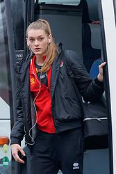 08–01-2020 NED: Olympic qualification tournament women, Apeldoorn<br /> Belgium - Germany / Britt Herbots #3 of Belgium