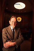 "Famed trial attorney Bobby Lee Cook in the law library of his Summerville, Georgia office. The tevevision show ""Matlock"" was based on Cook."