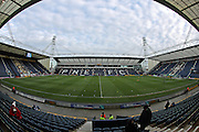 A general view of Deepdale Stadium during the EFL Sky Bet Championship match between Preston North End and Brighton and Hove Albion at Deepdale, Preston, England on 14 January 2017.
