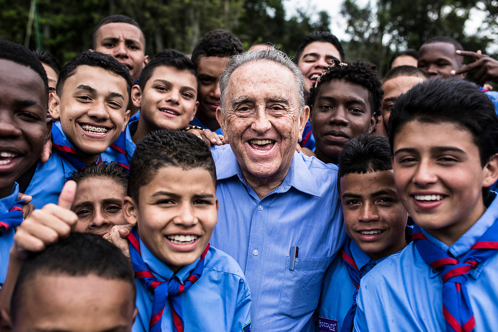Child Rights Hero Gabriel Meija Montoya is nominated for the World&rsquo;s Children&rsquo;s Prize for his his efforts over the course of more than 30 years to support Colombia&rsquo;s street children, child soldiers and children in prison. Father Gabriel has suffered repeated attempts on his life because of his work.<br />