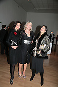 CHRISTINA ESTRADA , LOUISE FENNELL and MISHA SUNSTAD , ' Show Off' Theo Fennell exhibition co-hosted wit Vanity Fair. Royal Academy. Burlington Gdns. London. 27 September 2007. -DO NOT ARCHIVE-© Copyright Photograph by Dafydd Jones. 248 Clapham Rd. London SW9 0PZ. Tel 0207 820 0771. www.dafjones.com.