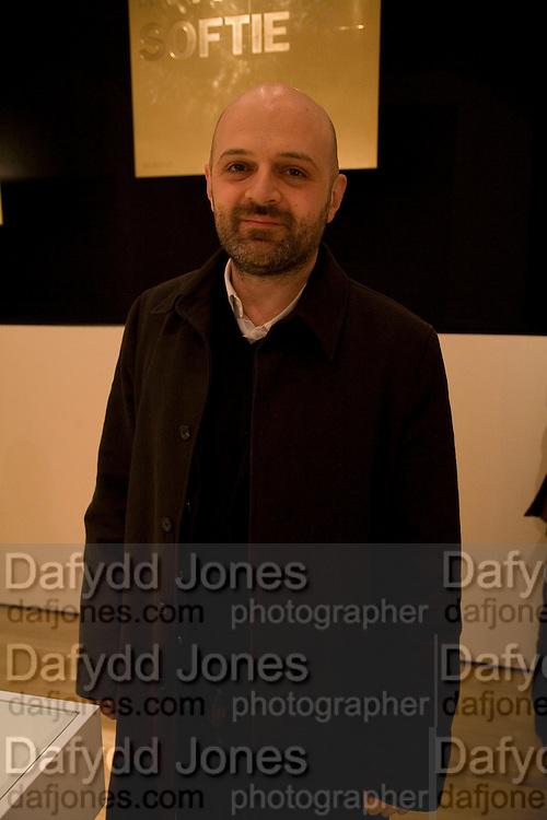 HUSSEIN CHALAYAN, Brit Insurance Design Awards. Design Museum. London. 18 March 2008.  *** Local Caption *** -DO NOT ARCHIVE-© Copyright Photograph by Dafydd Jones. 248 Clapham Rd. London SW9 0PZ. Tel 0207 820 0771. www.dafjones.com.