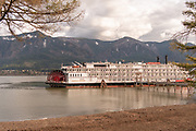 American Empress River Boat docking in Stevenson, WA